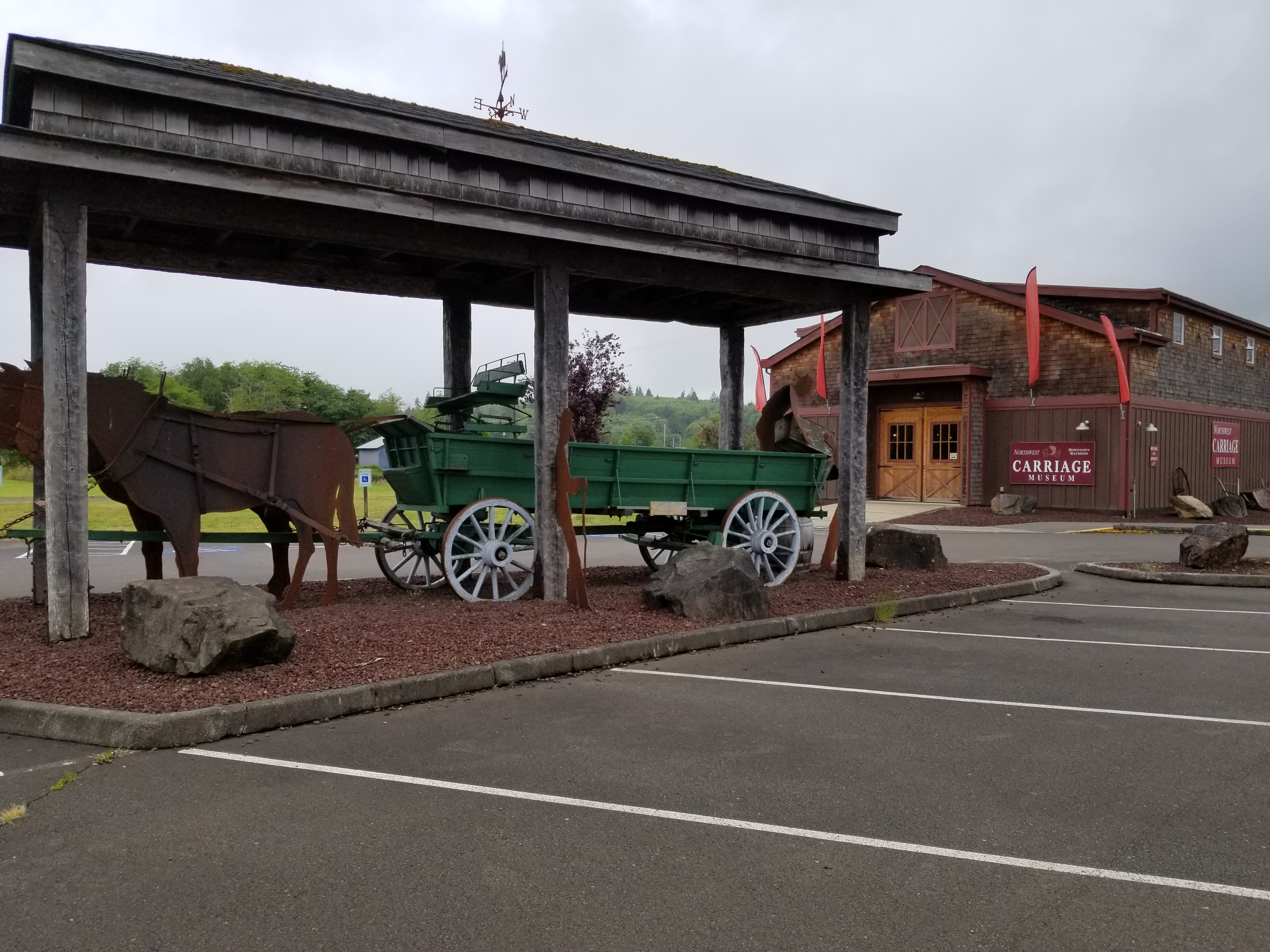 NW Carriage Museum in Raymond, WA