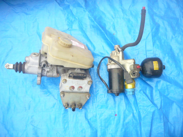 XJS ABS Brake System- 89-94 - Perfect - Acutator/pump/switch/accumulator/controller/harness