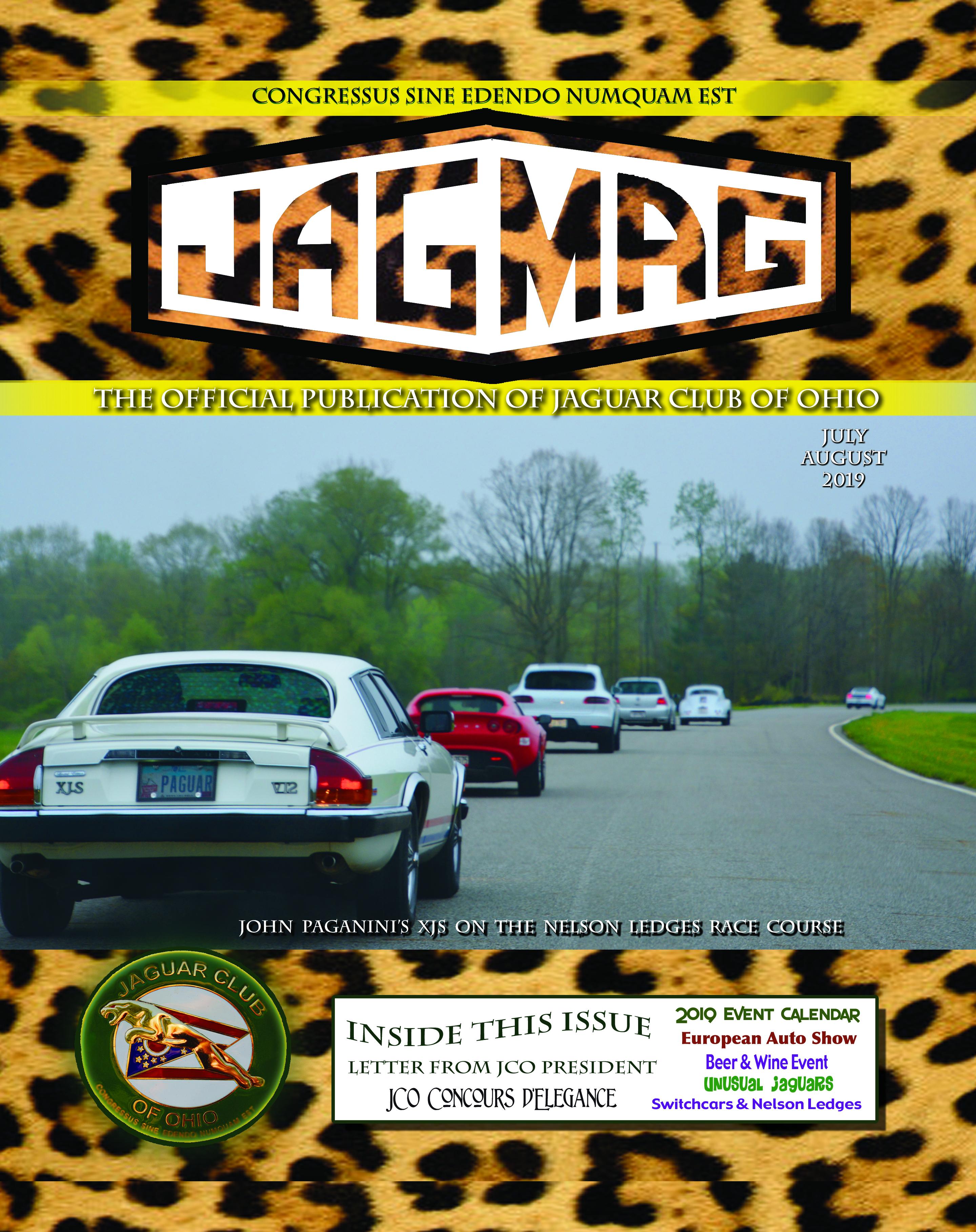 The Jaguar Club of Ohio