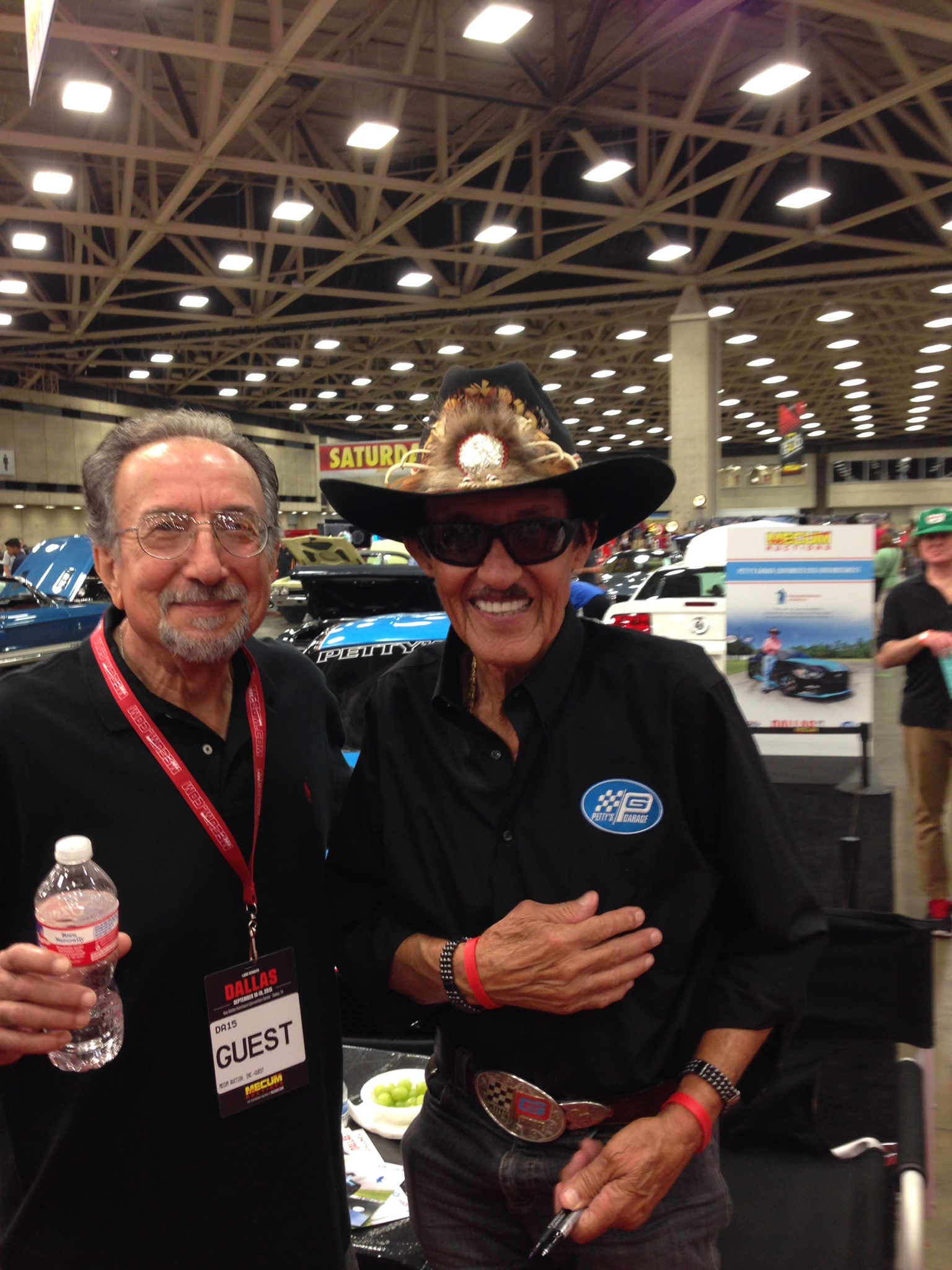 Lee Blaik and Richard Petty