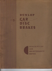 Dunlop Brakes introduction manual