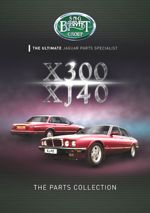XJ40 and X300 (1988-1997 XJ6) Parts catalog from SNG Barratt's