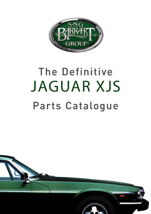 XJS parts catalog from SNG Barratt